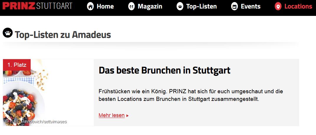 Prinz Brunch