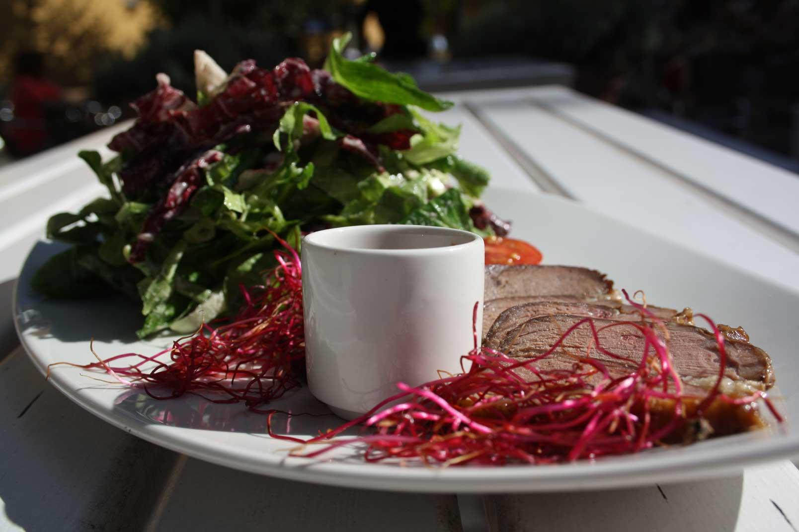Salat-mit-Ente